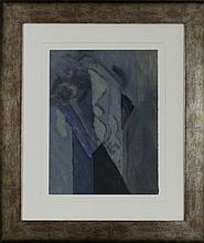 Augusto Barros - Original - Guache sobre papel,