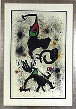 Miró (1893-1983) - Litografia sobre papel,