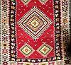 Tapete Persa Kilim, Irão em lã feita à mão com