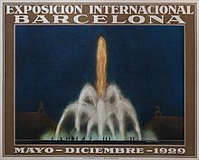 SANTACREU Exposición Internacional Barcelona. Mayo - Diciembre - 1929