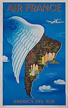 LUCIEN BOUCHER Air France. Amérique du Sud