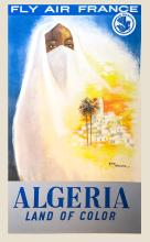 GUY NOUEN Fly Air France - Algeria Land of Color