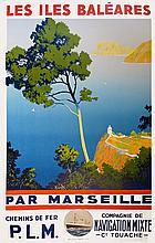 SANDY HOOK Les Îles Baléares par Marseille - Chemins de Fer P.L.M. - Compagnie de Navigation mixte Cie Touache