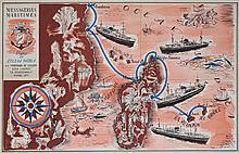 HERVÉ BAILLE Messageries Maritimes - Ligne de l'Océan Indien