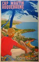 J. REBROIN P.L.M. Côte d'Azur - Cap Martin - Roquebrune