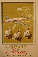 Fly to Spain by Iberia - The Sky caravels