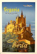 Fly Iberia. Airlines of Spain - Segovia: the Royal Alcazar