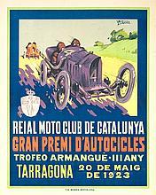 LLUÍS A. GARCÍA FALGÀS Reial Moto Club de Catalunya. Gran Premi d'Autocicles. Trofeo Armangué III any - Tarragona, 20 de maig de 1923
