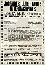 Jornades Llibertaries Internacionals. C. N. T. 1977