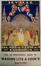 GUSTAVO BACARISAS Seville - Spanish American Exhibition 1929-1930