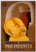 RAMÓN MARTÍ Compreu Segells Pro Infancia 1938