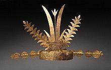 Exceptionnelle couronne cérémonielle de type Rai ni wöli wöl