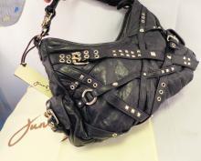 Junior Drake Gilt Group Ladies Studded Leather New Stock Fashion Designer Purse Bag Handbag
