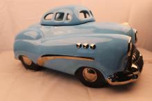 Glenn Appleman  Blue Buick Roadmaster Auto Works Cookie jar