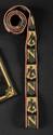 GALON BRODE, DE LIVREE OU DE TROMPETTE.  Au « N » et à « l'Aigle » impériale en alternance.  Longueur : 80 cm.  B.E. Epoque Premier Empire.