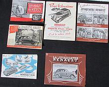- Catalogue RENAULT Juvaquatre  - Catalogue RENAULT Juvaquatre (Commercial)  - Plaquette de  présentation de la Juvaquatre  - RENAULT 1939 simple histoire d'une automobile ... de la prima 4 1931, à la prima Quatre Sport.
