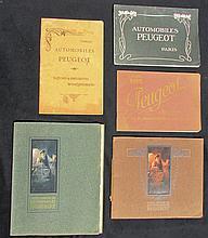 - Catalogues PEUGEOT : Catalogue voitures de 1903 - manuel des monocylindres 1903  - manuel des  voitures 1906  - manuel des voitures 1907  - manuel des voitures 1907 (lion Alt)