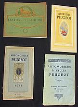 - Catalogues PEUGEOT : Catalogue voiture de 1909  - Catalogue manuel Type 127 - Catalogue voitures 1911  - Catalogue Voitures 1912