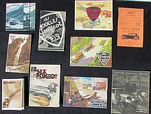 PEUGEOT 1930 - Catalogue PEUGEOT 5 CV - PEUGEOT six 12 - PEUGEOT 201 - Plaquette de présentation en toute sécurité sur toutes les routes - Plaquette de présentation, l'équipement électrique DUSSOLIER de votre PEUGEOT 5 CV - PEUGEOT la mission