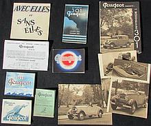 - PEUGEOT 1932 : PEUGEOT modèle 1932 -PEUGEOT Six 12 -PEUGEOT 201 : -Tarifs au premier octobre 31 -Tarifs au premier décembre 31 - PEUGEOT 201