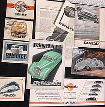 -Catalogues PANHARD & LEVASSOR de 1935: 2 exemplaires - Catalogue 1936 - Catalogue 1937 - Catalogue 1938