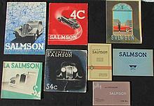 - SALMSON sur les routes de France : la SALMSON S4D -SALMSON 4C La nouvelle SALMSON S4C  -La SALMSON S4 -SALMSON 1951 -Le Cycle car SALMSON type AL -SALMSON S4 61 et S4 E -SALMSON, la 7 CV
