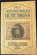 - Catalogue HOTCHKISS 1922