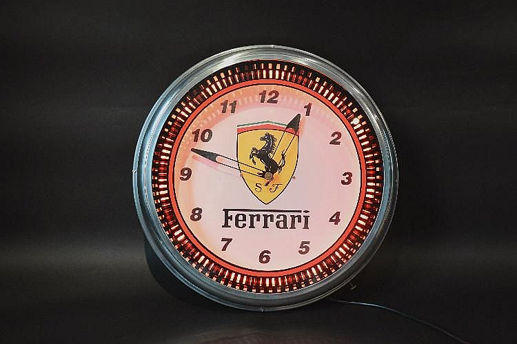 Pendule ferrari pendule murale ferrari fabrication contemporaine for Pendule contemporaine