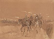 Edouard DETAILLE (1848-1912). Ecole française. « D