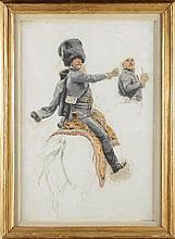 Edouard DETAILLE (1848-1912). Ecole française. « E