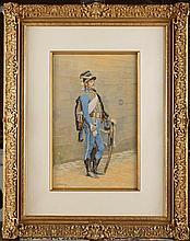 Edouard DETAILLE (1848-1912). Ecole française. « H