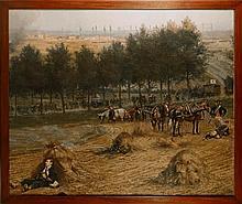 Edouard DETAILLE (1848-1912) « Ambulance blessés e