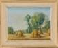 André DES FONTAINES (1869-1910)  Les meules Pastel Signé en bas à gauche 48 x 63 cm (18,9 x 24,8 in.)  Pastel, Signed lower left