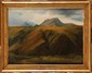 Théodore ROUSSEAU (1812-1867) Paysage d'Auvergne Huile sur papier marouflé sur toile Monogrammée en bas à gauche 38,5 x 51,1 cm (15 x 20 in.) Un certificat d'authenticité de Monsieur Michel Schulman, auteur du Catalogue Raisonné de l'oeuvre peint de