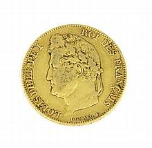 LOUIS-PHILIPPE (1773-1850) 20 francs or 1834