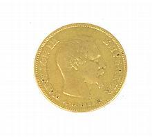 NAPOLEON III (1808-1873) 10 francs or 1857