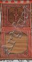 Ancienne et originale selle du KURDISTAN (tribale) 1ère partie du XXème siècle 130 x 68 cm