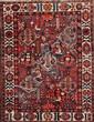 BAKTIAR (Iran) à décor floral géométrique Vers 1965 205 x 147 cm