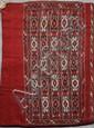 SAC TURKMEN (travail Kilim) à tarentules stylisées Vers 1930 117 x 74 cm
