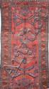 Ancien MELAYER (Perse) sur fond vieux rose Vers 1930/40 190 x 93 cm