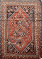 Ancien QUASGAÏ (Iran) Vers 1930/40 235 x 150 cm