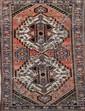 KIRMAN-AFCHAR (Iran) à décor géométrique Vers 1960 224 x 155 cm