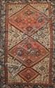 Ancien MELAYER (Perse) à décor géométrique 1ère partie du XXème siècle 202 x 117 cm