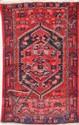 HAMADAN (Iran) à large médaillon central géométrique Vers 1965 164 x 104 cm