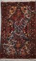 BAKTIAR (Iran) à double vases fleuris en polychromie vers 1965 200 x 113 cm