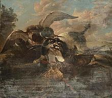 ECOLE FRANCAISE du XVIIIème siècle, Dans le gout de Jean-Baptiste OUDRY (16