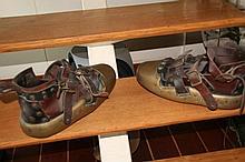 Une paire de pieds lourds anglais de 20kg