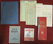 Lot de catalogues divers.
