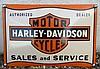 Plaque HARLEY DAVIDSON.