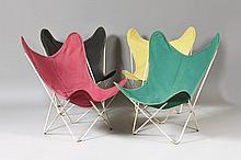 JORGE FERRARI-HARDOY (1914-1977), JUAN KURCHAN & ANTONIO BONET (1913-1975)  Butterfly ou Hardoy chair ou BKF ou AAA.